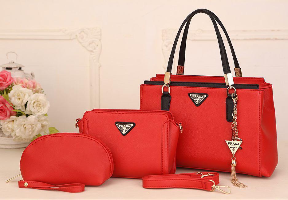 38896024c728 PRADA 3 IN 1 SET – Shopping Beg Tangan Dengan Gembira